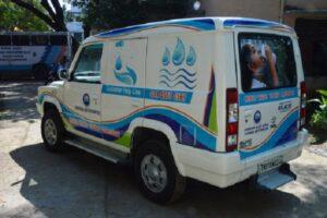Water Testing Laboratory Van